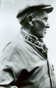 Great great grandfather, Joseph Michelin of Traverspine, Labrador, ca. 1910.