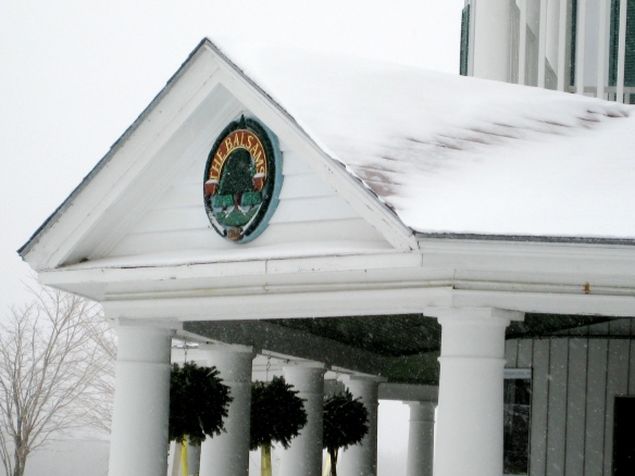 The Balsams Grand Resort is beautiful in winter