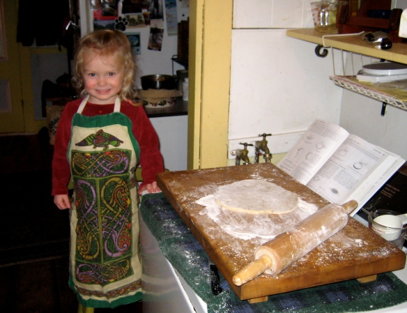 Auntie's little pastry helper