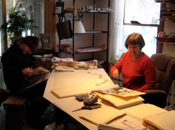 Jennifer Allen of Botanical Lampshades