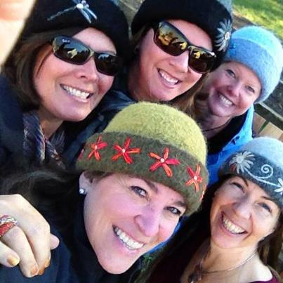 Milford friends on a road trip to hat heaven ends successfully with new hats for everyone.