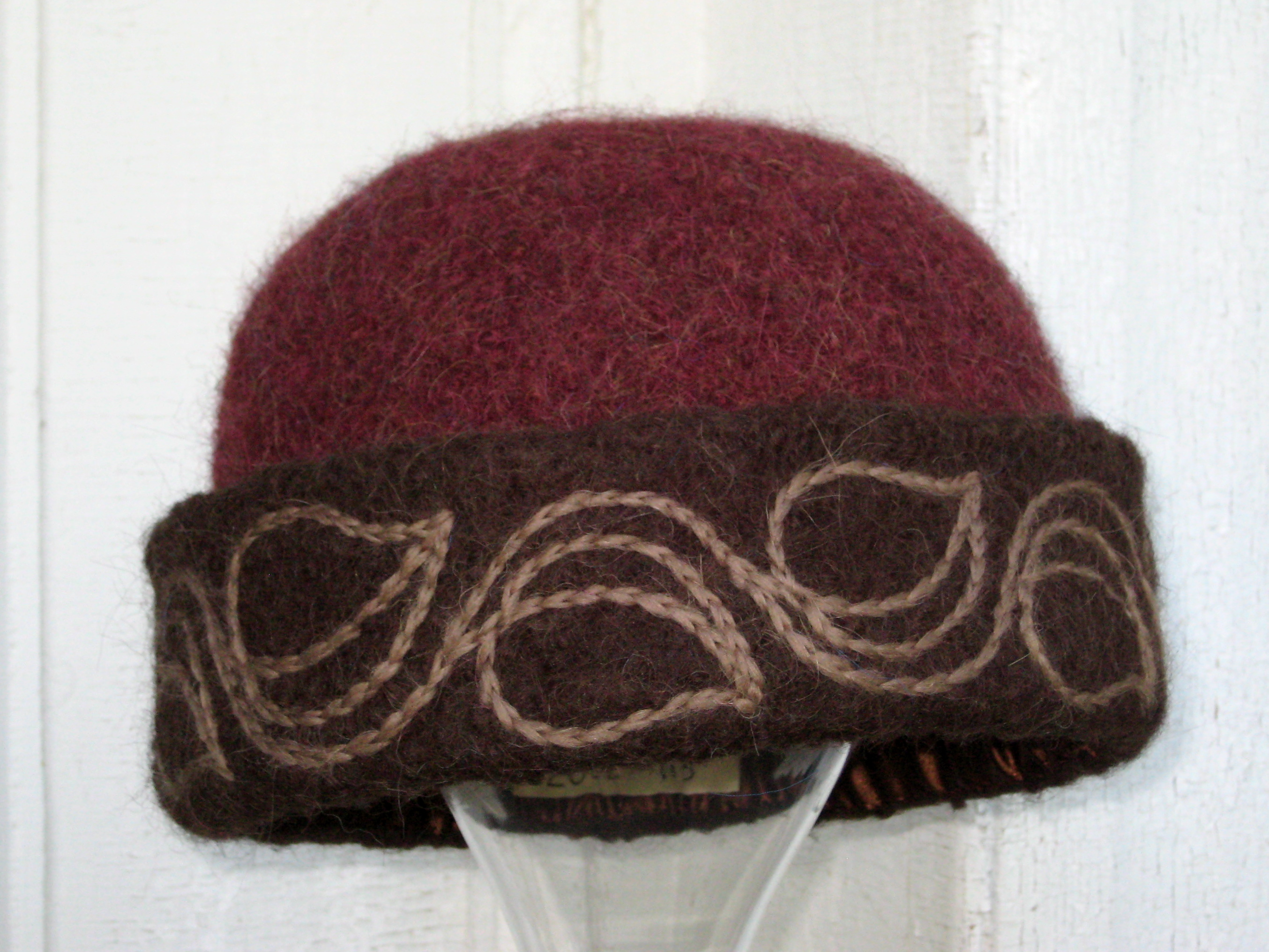 City Hat Country Hat Priscillas Embroidered Felt Hat In Nyc