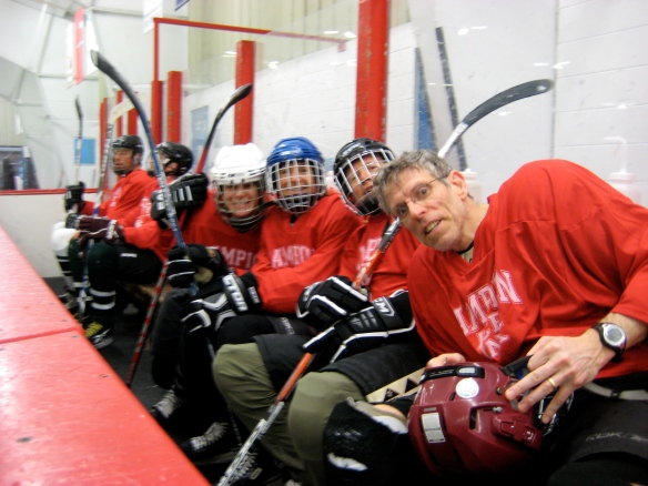 Team Red of Campion Rink's 2013 April Showers mini-tournament.